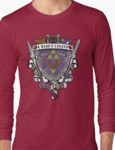 A Hero's Legend Crest Long Sleeve T-Shirt