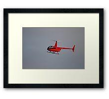 Robinson R44 Raven Helicopter Framed Print