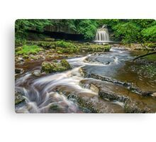 West Burton Falls Yorkshire Dales Canvas Print