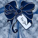 Blue Ribbon & Bows by Doreen Erhardt