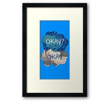 The Fault In Our Stars Okay Framed Print