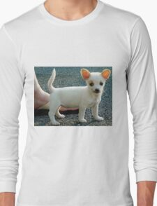 The puppy pose Long Sleeve T-Shirt