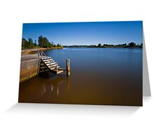 Beautiful Manning River 666 Greeting Card