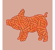 lil' bacon Photographic Print
