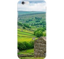 Dales Barns in Swaledale iPhone Case/Skin