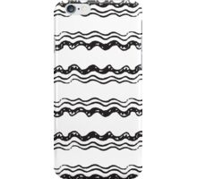 Abstract wavy pattern iPhone Case/Skin