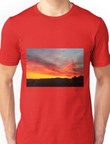fiery sunset of Yellow orange and red  Unisex T-Shirt