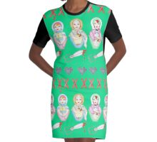 Bad Mummas Graphic T-Shirt Dress
