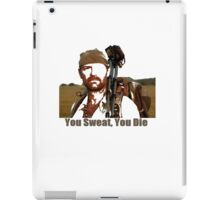 Les Stroud You Sweat You Die iPad Case/Skin