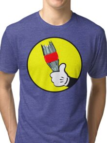 Angry Mouse Tri-blend T-Shirt
