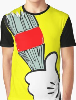 Angry Mouse Graphic T-Shirt