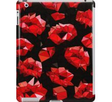 Triangle Red Kisses  iPad Case/Skin