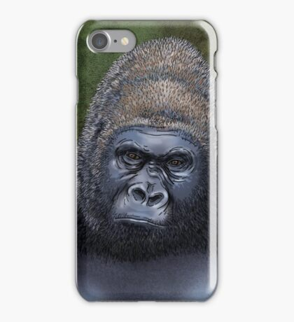 Endangered Gorilla iPhone Case/Skin