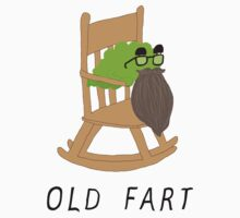 Old Fart Tee Kids Clothes