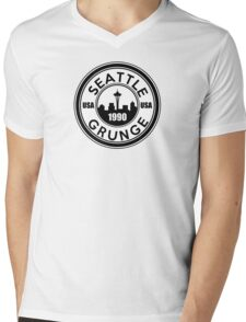 Seattle Grunge Mens V-Neck T-Shirt