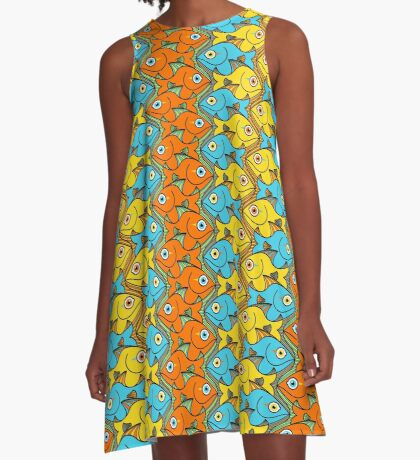Something is Nicely Fishy Here! A-Line Dress