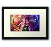 Eureka Seven Framed Print