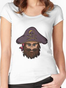 T-shirt Pirate Women's Fitted Scoop T-Shirt