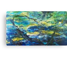 Epoch Galaxy Painting Canvas Print