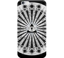 All-Seeing Eye - Black iPhone Case/Skin