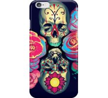 Skulls and Flowers iPhone Case/Skin