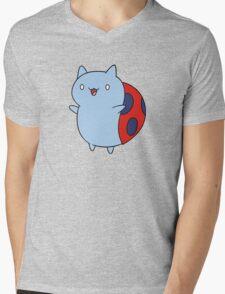 Catbug Mens V-Neck T-Shirt