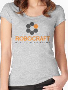 Robocraft Logo (Dark) Women's Fitted Scoop T-Shirt