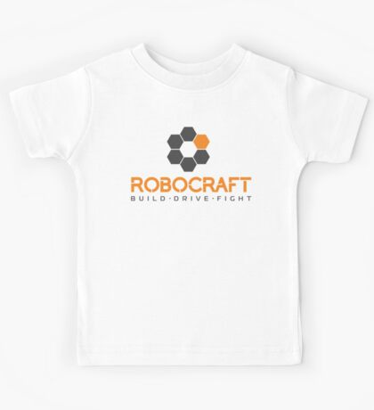 Robocraft Logo (Dark) Kids Tee