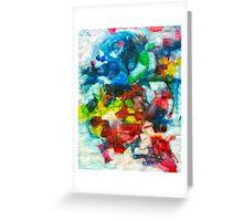 Blocks - Colours Greeting Card