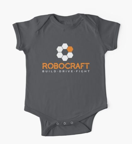 Robocraft Logo (White) One Piece - Short Sleeve