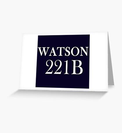 Watson Greeting Card