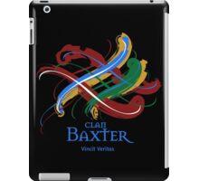 Clan Baxter - Prefer your gift on Black/White tell us at info@tangledtartan.com  iPad Case/Skin