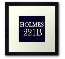 Holmes Framed Print