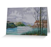 The Gap of the Columbia River Greeting Card