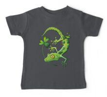 Saint Patrick's Day Gecko Baby Tee