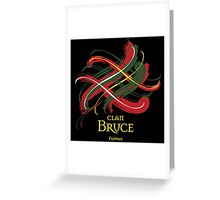 Clan Bruce  Greeting Card