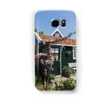 Dutch Country Charm - a Beautiful Little Cottage with Flowers Samsung Galaxy Case/Skin