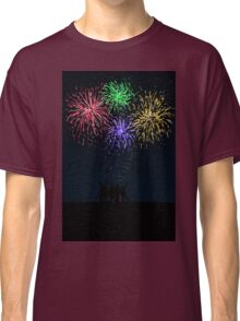 Fireworks in the Summer Classic T-Shirt