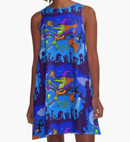 Crazy Witch A-Line Dress