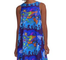 Crazy Witch A-Line Dress