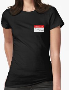 Music/Humour - Hello, I'm... Mr Brightside Womens Fitted T-Shirt