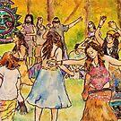 Tripping Dancers by Jennifer Ingram