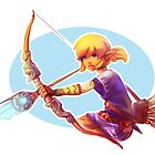 Girl Link  by Ondinel
