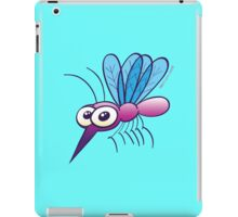 Cute Purple Mosquito iPad Case/Skin