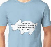 The Simpsons - Homer's BBBQ Unisex T-Shirt
