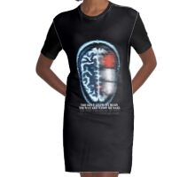 I care what you think Graphic T-Shirt Dress