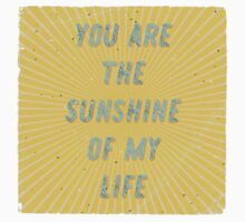 You are the Sunshine of my Life - Square Kids Tee