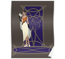 Fashion Butterfly - Great Orange Tip Poster