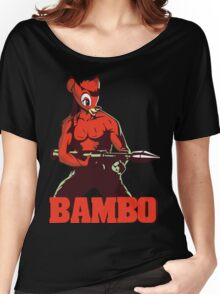 BAMBO YOUR FOREST COMMANDO Women's Relaxed Fit T-Shirt