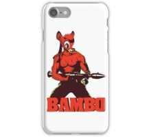 BAMBO YOUR FOREST COMMANDO iPhone Case/Skin